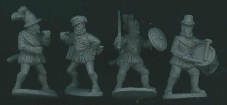 Imperial Spanish Infantry Released.