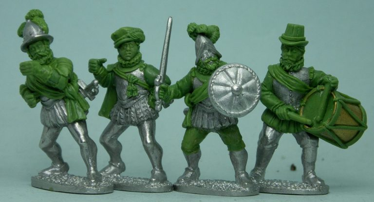 Spanish Imperial Infantry on the Workbench