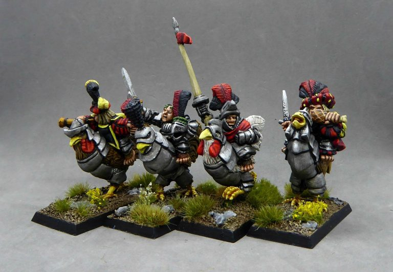 Halfling Yeomen on Armoured Roosters Released